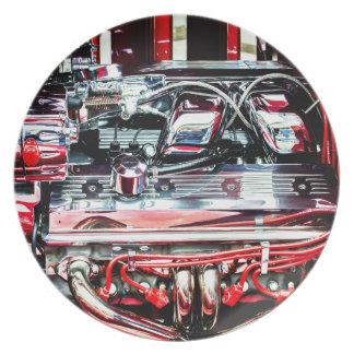 Car Engine Plate