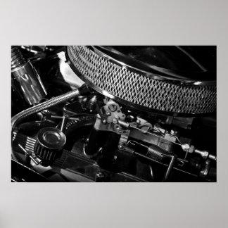 Car Engine Poster/Print Poster
