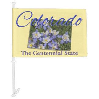 Car Flag - COLORADO