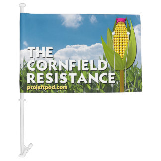 Car Flag - The Cornfield Resistance