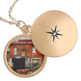 Car - Garage - Misfit Garage 1922 Gold Plated Necklace