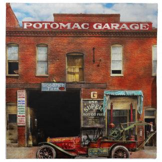 Car - Garage - Misfit Garage 1922 Napkin