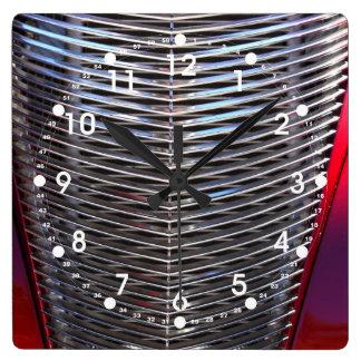 Car Gill Square Wall Clock