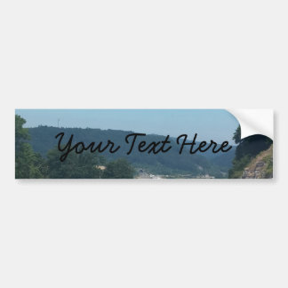 Car Holiday Mountains Europe Austria Photography Bumper Sticker