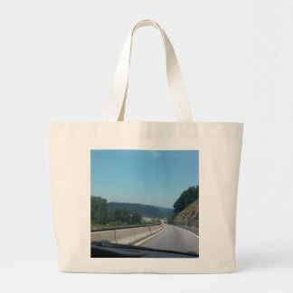 Car Holiday Mountains Europe Austria Photography Large Tote Bag