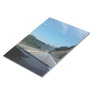 Car Holiday Mountains Europe Austria Photography Notepad