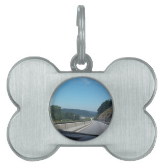 Car Holiday Mountains Europe Austria Photography Pet Tag