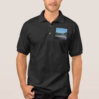 Car Holiday Mountains Europe Austria Photography Polo Shirt