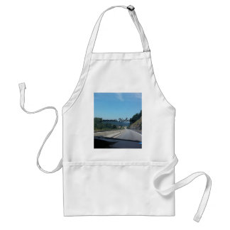 Car Holiday Mountains Europe Austria Photography Standard Apron