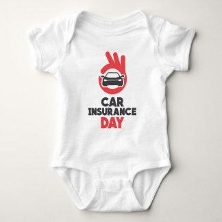 Car Insurance Day - Appreciation Day Baby Bodysuit
