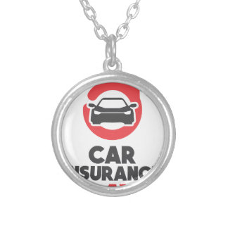 Car Insurance Day - Appreciation Day Silver Plated Necklace