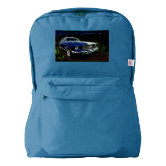 Car lighting backpack