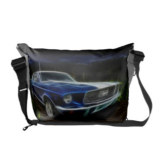 Car lighting messenger bags