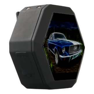 Car lightning black bluetooth speaker