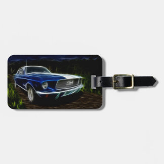 Car lightning luggage tag