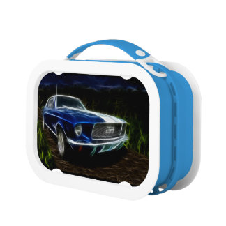 Car lightning lunch box