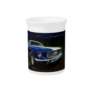 Car lightning pitcher