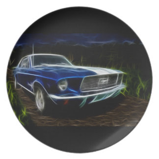 Car lightning plate