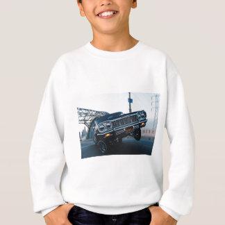 Car Low Rider Vintage Oldschool Automotive Driving Sweatshirt