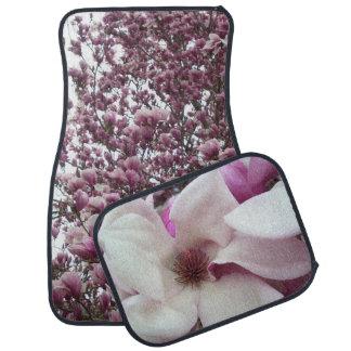 Car Mats - Saucer Magnolia Bloom Car Mat