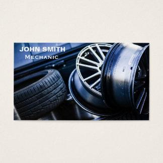 Car Mechanic car maintenance freelance Business Card