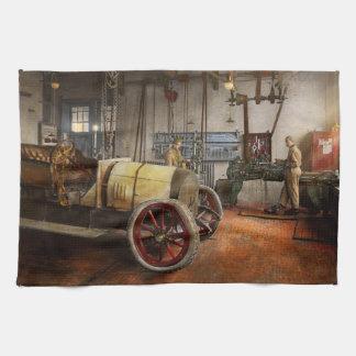 Car Mechanic - The overhaul 1915 Hand Towels