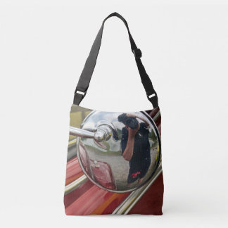Car mirror reflection body bag