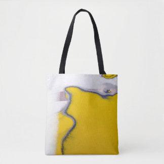 Car Paint Peeling Art Tote Bag