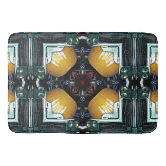 Car Parts Collage Bath Mat