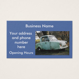 Car Personalized Business Card