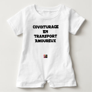 CAR-POOLING IN AMOROUS TRANSPORT - Word games Baby Bodysuit