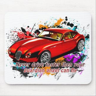 Car Race Mouse Pad