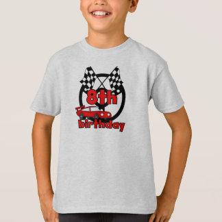 Car Racing 8th Birthday T-Shirt