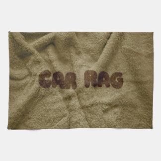 Car Rag Tea Towel