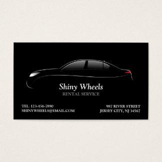 Car Rental Business Card