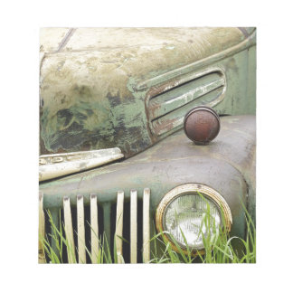Car Rust Antique Vehicle Old Rusted Auto Notepad
