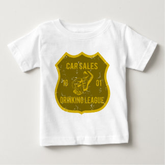 Car Sales Drinking League Baby T-Shirt