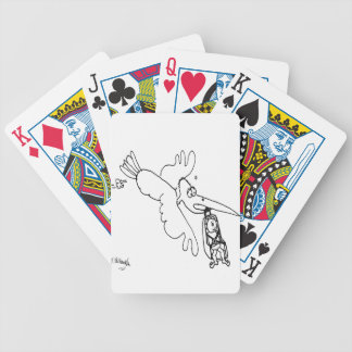Car Seat Cartoon 3434 Bicycle Playing Cards