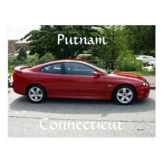 Car Show Postcard