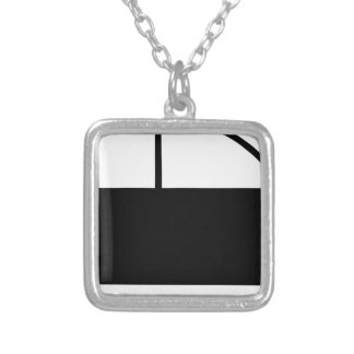 Car Silver Plated Necklace