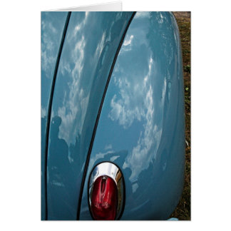 Car tail light note cards