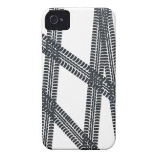 Car tire marks/tracks BlackBerry Bold Case Cover