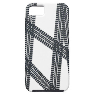 Car tire marks/tracks iPhone4 Case Cover