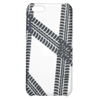 Car tire marks/tracks iPhone4 Case Cover iPhone 5C Covers