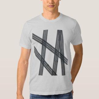 Car tire marks/tracks Tshirt