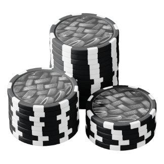 Car tires pattern poker chips