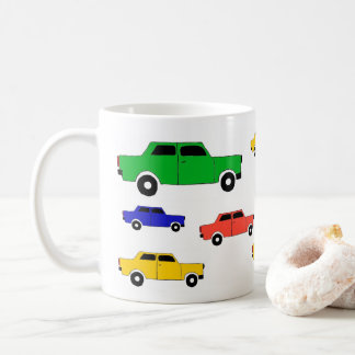 Car Trabant cup, child-multicolored and Coffee Mug