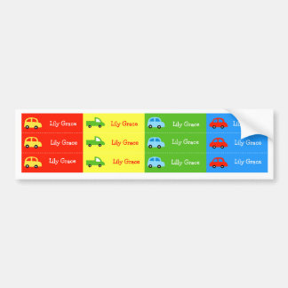 Car Truck Kids  Suppy Cup Waterproof labels Bumper Sticker