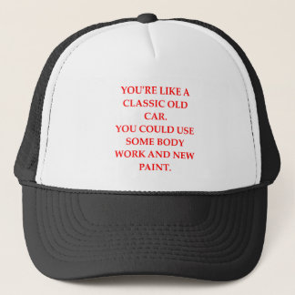 CAR TRUCKER HAT