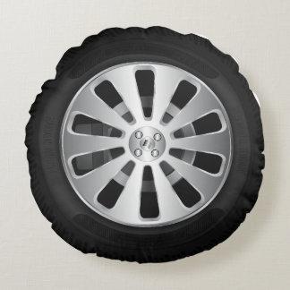 Car tyre round cushion